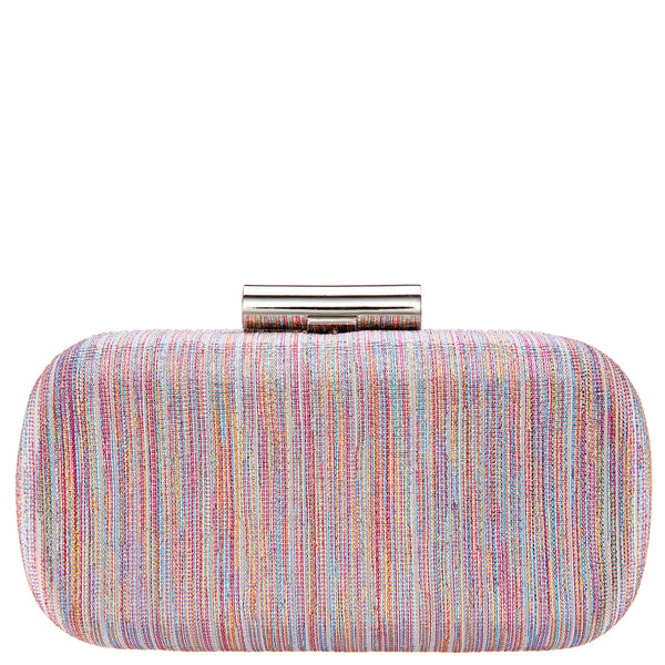 BEDFORD2-PINK MULTI METALLIC STRIPE