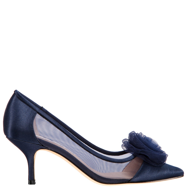 BETTEY-NEW NAVY-SATIN