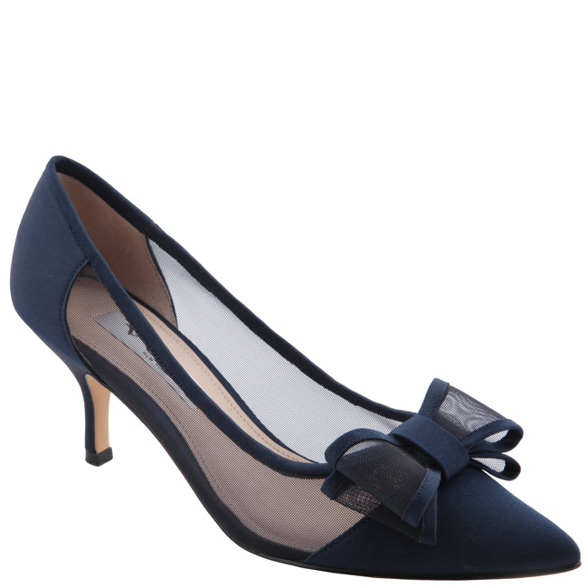 BIANCA-NEW NAVY SATIN