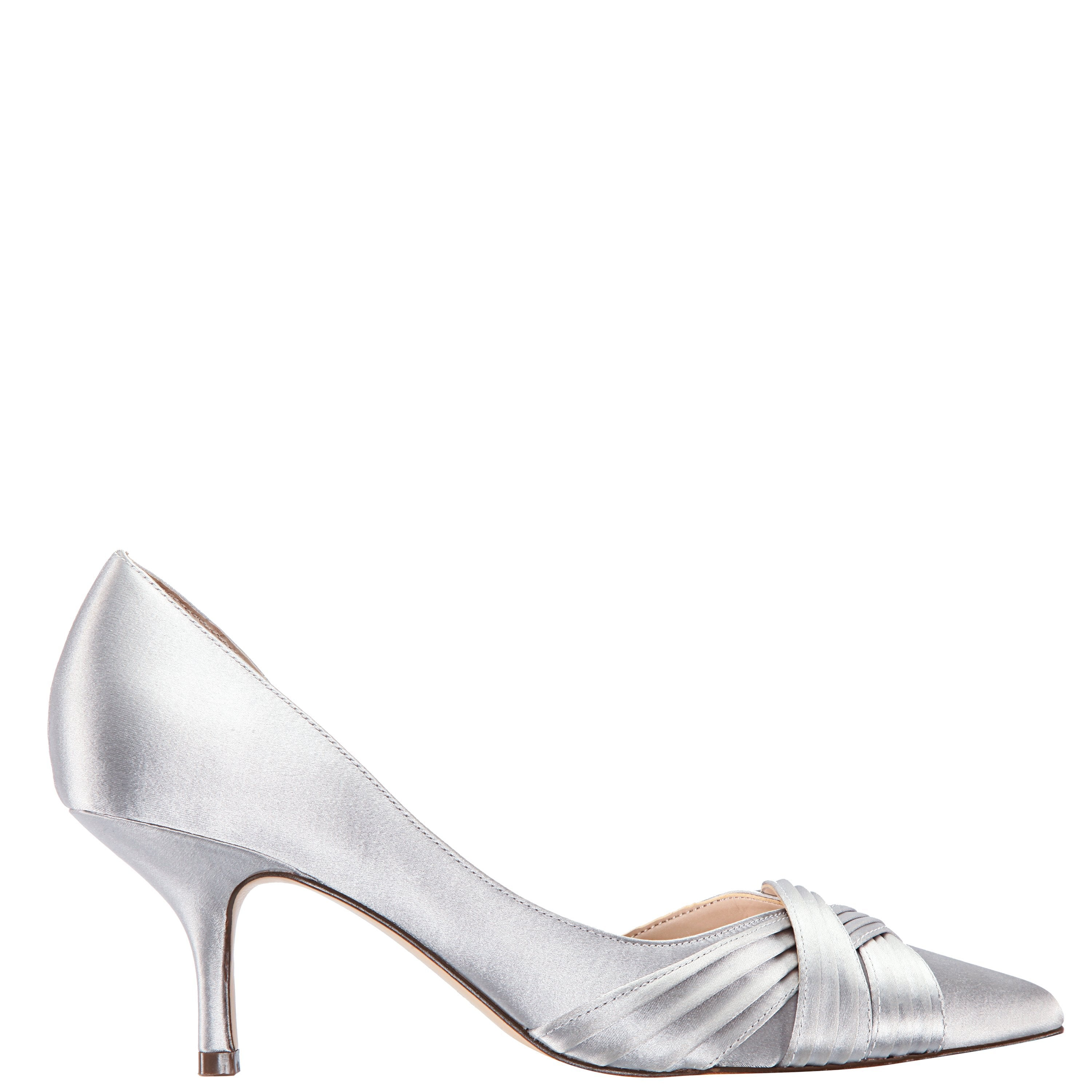 BLAKELY-NEW SILVER SATIN - NEW SILVER