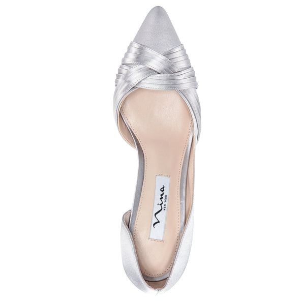 BLAKELY-NEW SILVER SATIN
