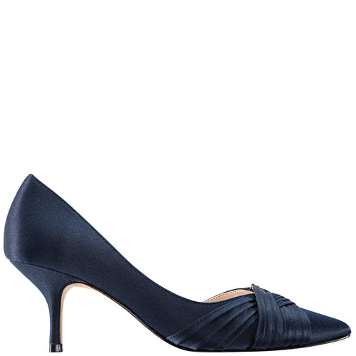 BLAKELY-NEW NAVY SATIN