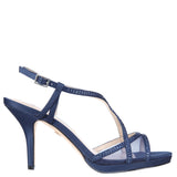 BLOSSOM-NEW NAVY SATIN