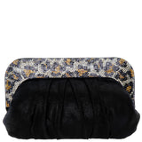 CARINA-BLACK/GOLD LEOPARD