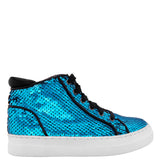 CAROLEEN-TEAL FLIP SEQUIN