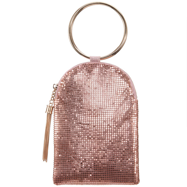 CHANDLER-ROSE GOLD MESH