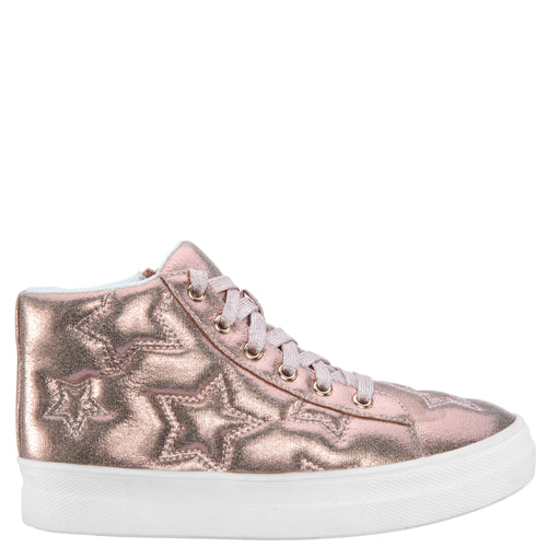CHERRISH-ROSE GOLD CREPE/MESH