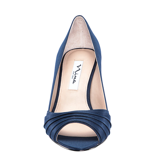 CHEZARE-NEW NAVY SATIN
