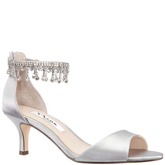 CHIANNE-NEW SILVER SATIN