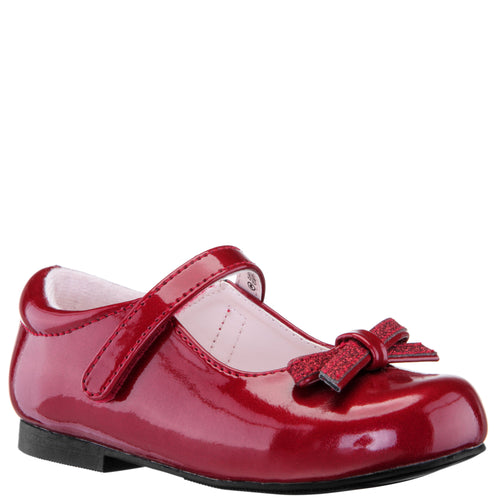 CHRISTIN-RED-PATENT