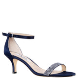 CLARICE-NEW NAVY-LUSTER SATIN
