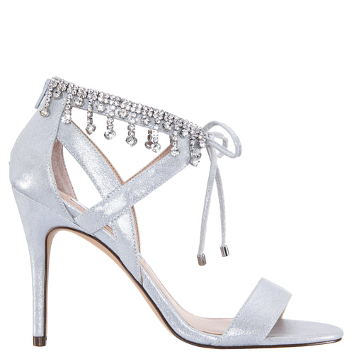 COLLINA- TRUE SILVER REFLECTIVE SUEDETTE