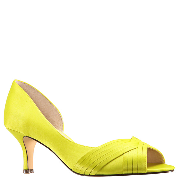 CONTESA-LEMON LIME SATIN