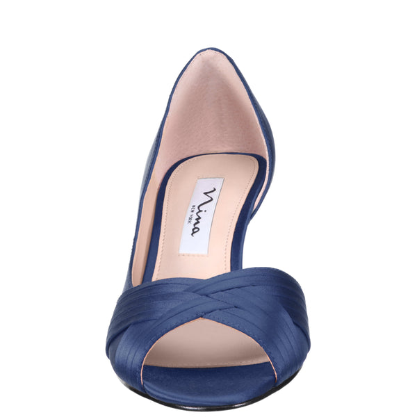 CONTESA-NEW NAVY SATIN