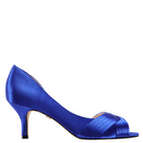 CONTESA-ELECTRIC BLUE SATIN