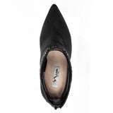 DERIKA-TRUE BLACK GLAM SUEDE