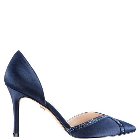 CIANNA-NAVY MINI MATTE FAILLE