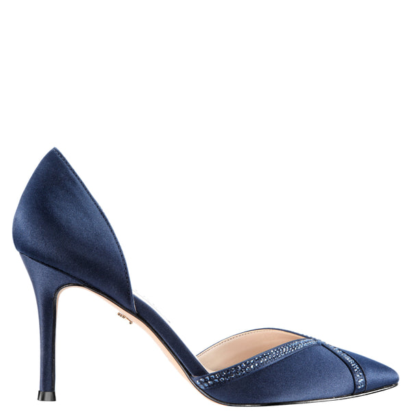 DIORA-NEW NAVY SATIN