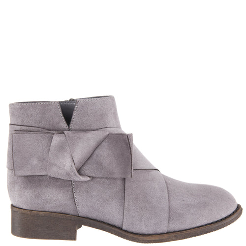 DOLLEE-GREY MICROSUEDE