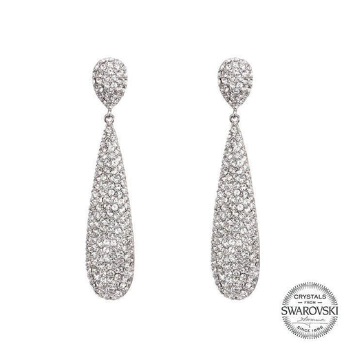 ADAIR EARRING-WHITE