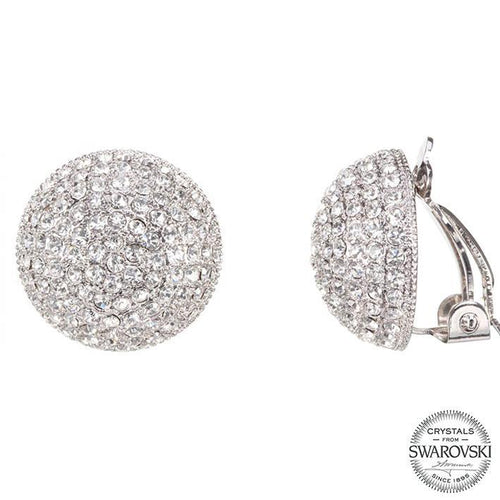 ALVEE EARRING-WHITE GOLD