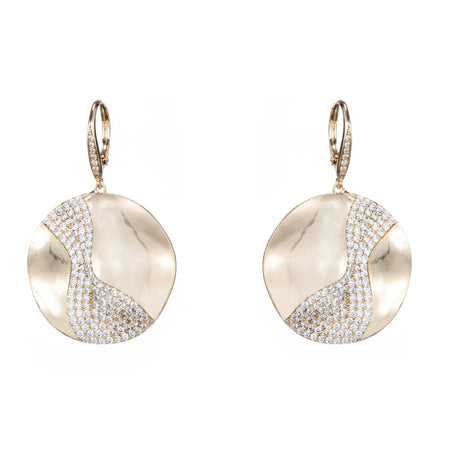 ROSINE DROP EARRING-GOLD
