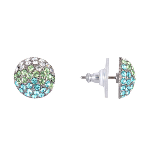 ANGELEE EARRING-OMBRE TURQ MULTI