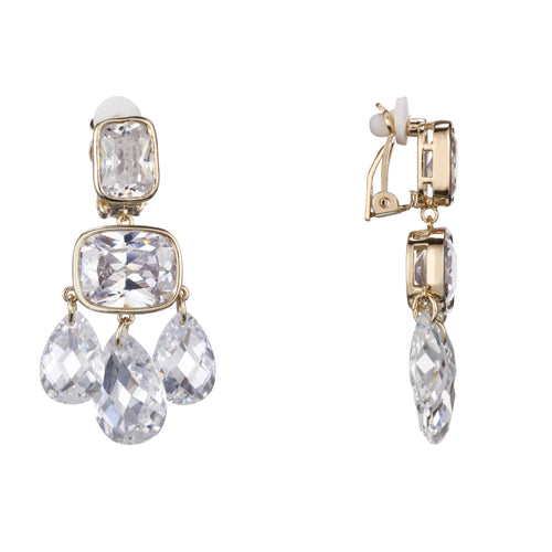 ARENIA CHANDELIER EARRING-GOLD