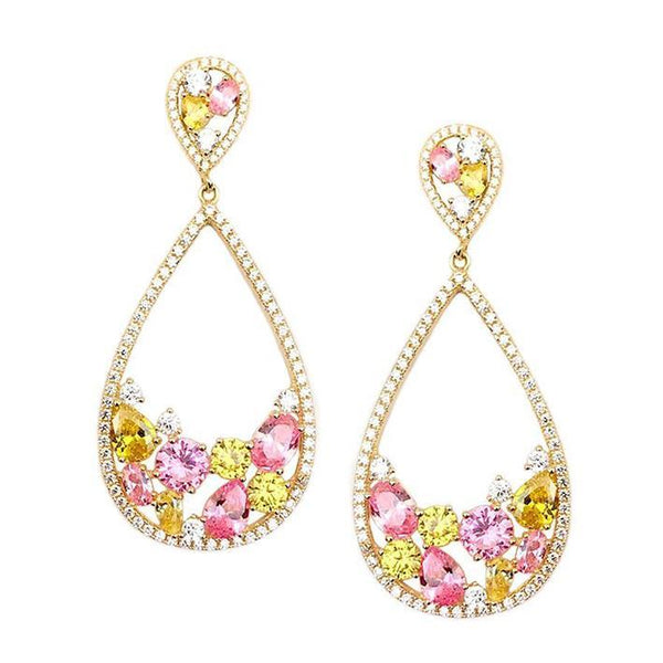 AREZZO EARRING-GOLD