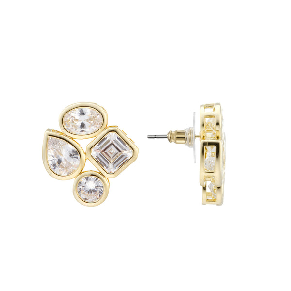 AUDRA STUD EARRING-GOLD