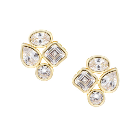 ZOEY DROP EARRING-GOLD