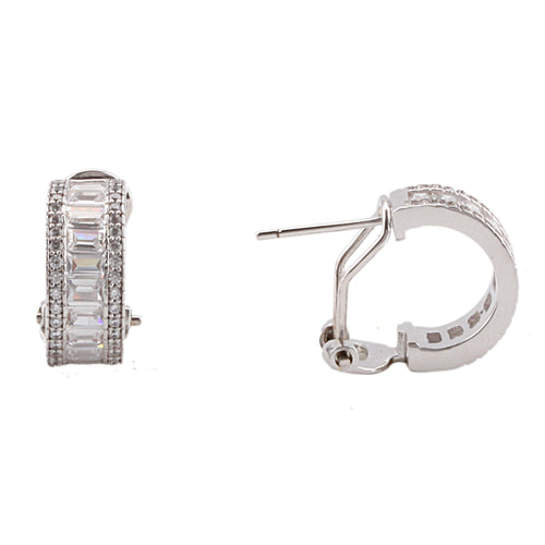 BRIENNE EARRING-WHITE GOLD