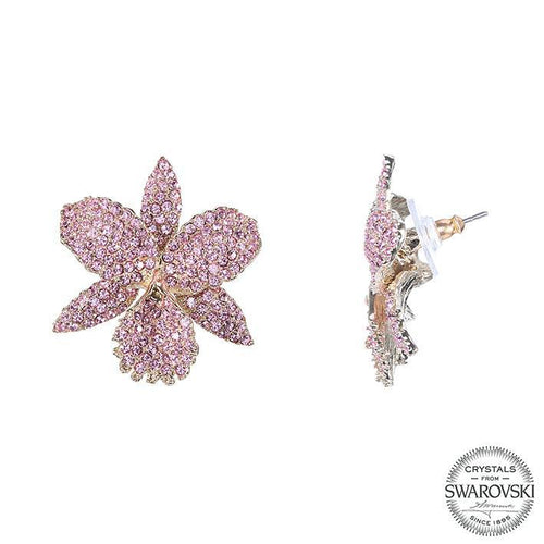 CHANA EARRING-LT.ROSE