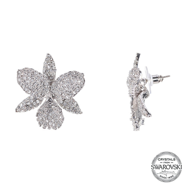 CHANA EARRING- WHITE GOLD