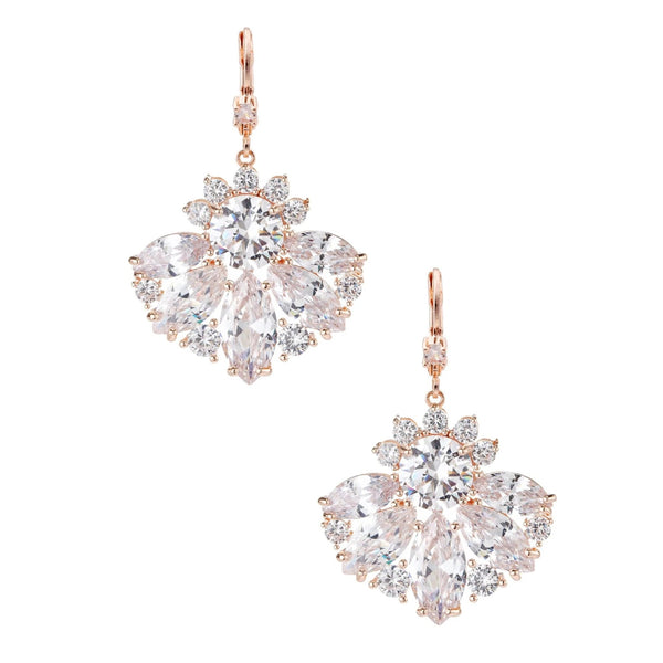 COLBIE EARRING-ROSE GOLD
