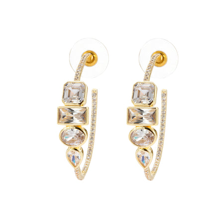 SERENADE DROP EARRING-GOLD