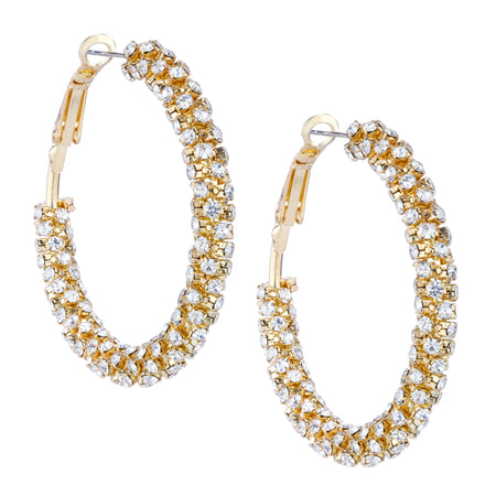 BRAELYN CLIP EARRINGS-GOLD