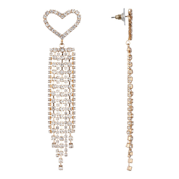 OLENA DROP EARRING-GOLD