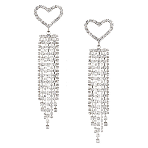 OLENA DROP EARRING-WHITE
