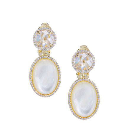 ARDEN EARRING-RHODIUM/WHITE