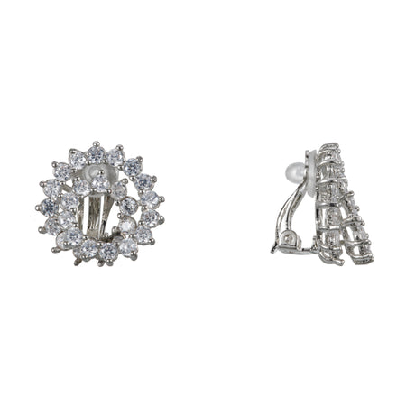 KARLOTTA DROP EARRING-RHODIUM