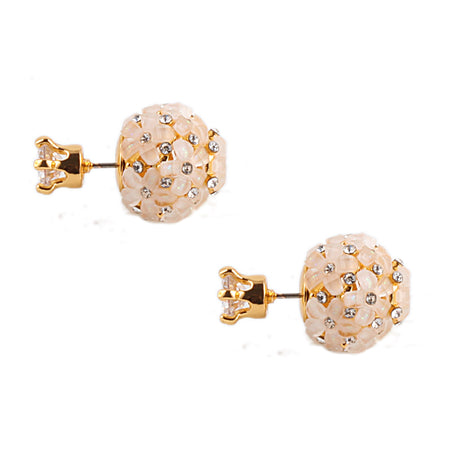 KAMRYN DROP EARRING-ROSE GOLD