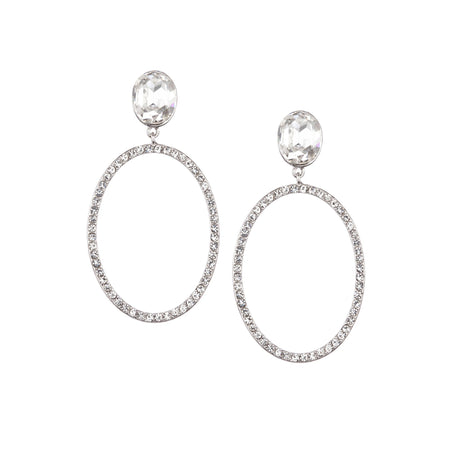 SOFIE DROP EARRING-WHITE