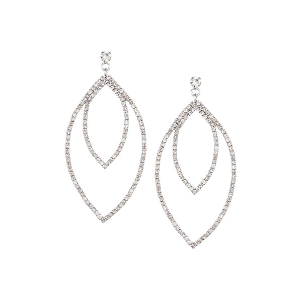 TRIANA DROP EARRING-WHITE