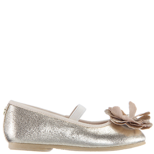 ESTELA-TODDLER-PLATINO METALLIC