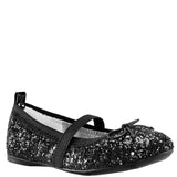 ESTHER-TODDLER-BLACK CHUNKY GLITTER