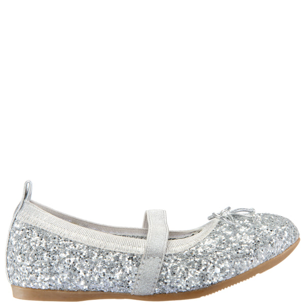ESTHER-TODDLER-SILVER CHUNKY GLITTER