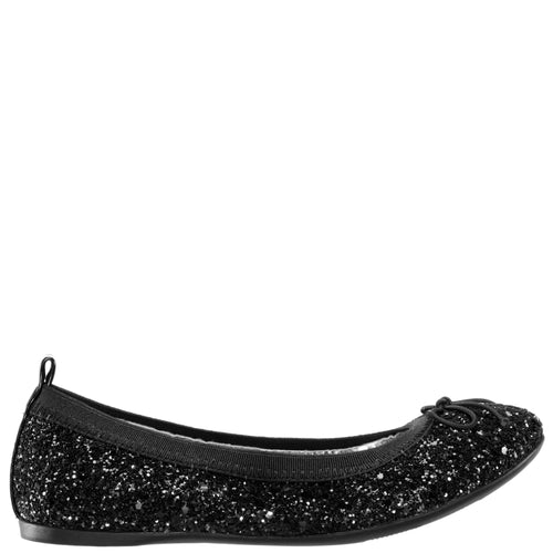 ESTHER-BLACK CHUNKY GLITTER