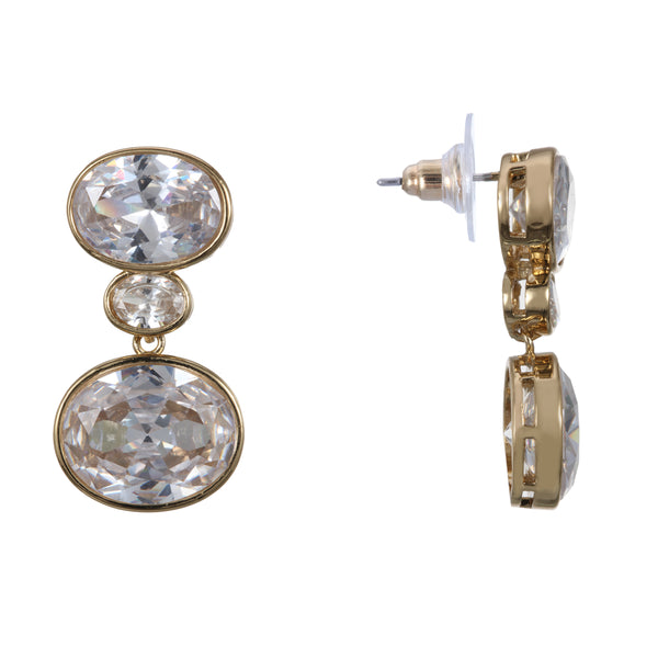 DEIDRA DROP EARRING-GOLD