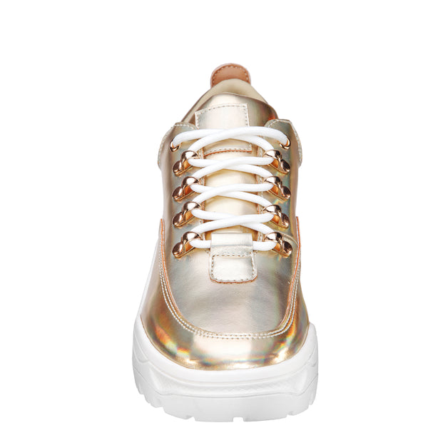 FLOW-GOLD-PRISMATIC NAPPA PU